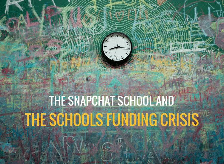 The Snapchat school