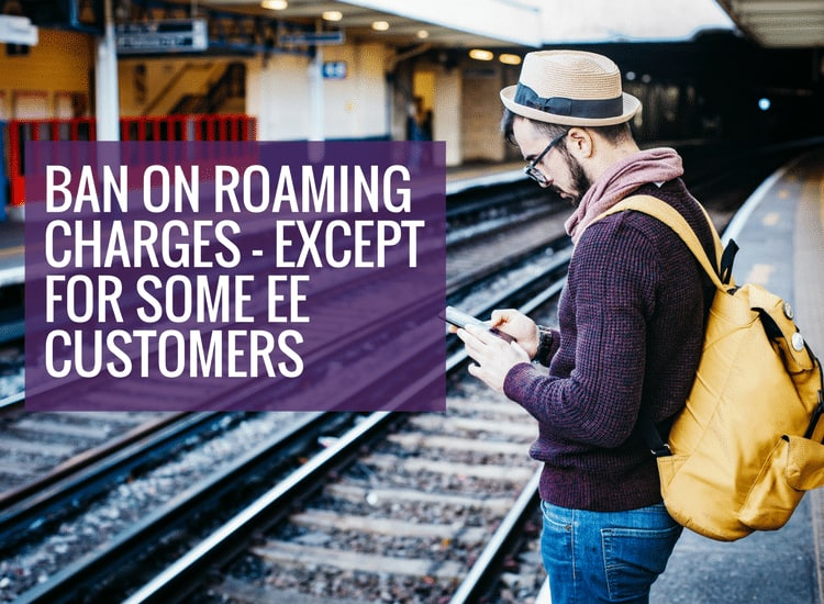Free roaming for EE customers