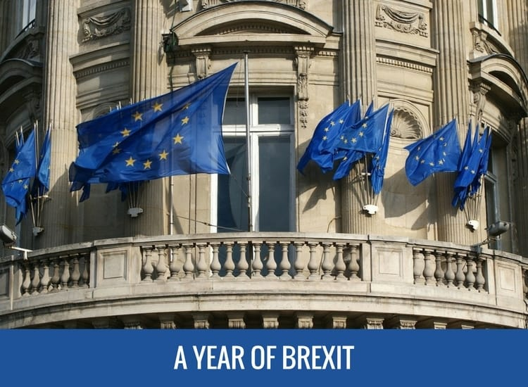 Looking back at A Year of Brexit and the European Union