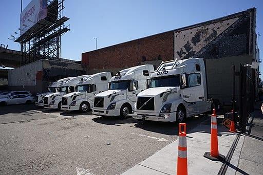 The future driverless trucks