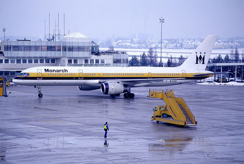 Unite and Monarch airlines