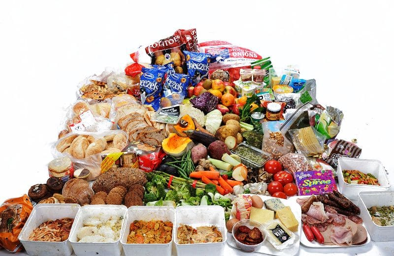 amount of wasted food is increasing in the UK