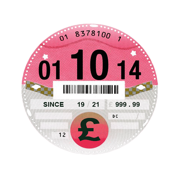 Abolished paper tax discs costing £107 million a year