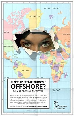 Offshore tax HMRC