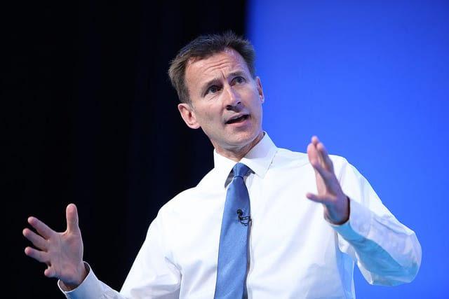 Jeremy Hunt cabinet reshuffle 2018