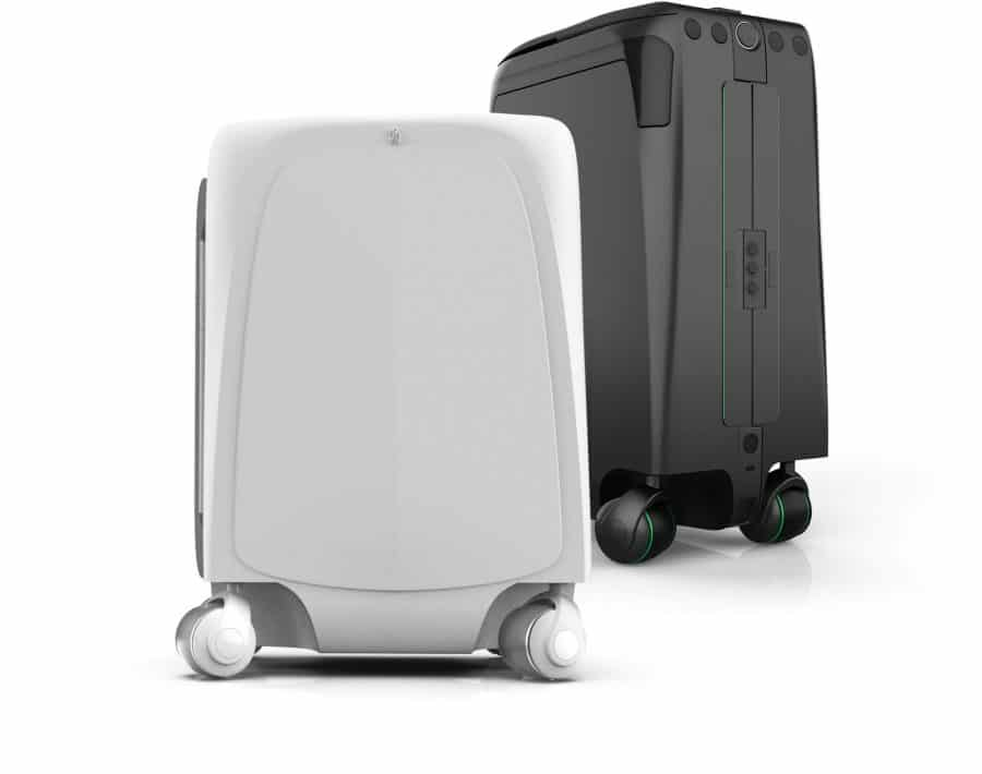 ForwardX Suitcase CES 2018
