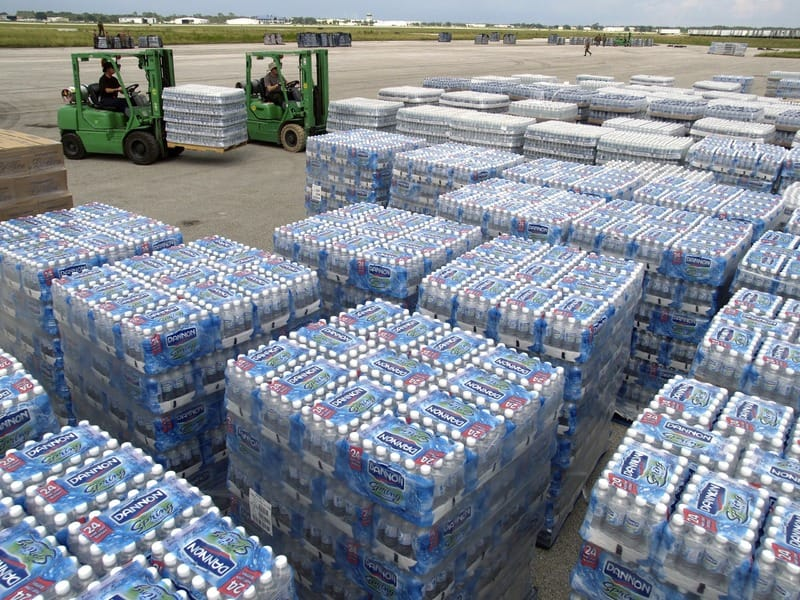 Bottled Water: Free water across country to cut plastic waste | CLNews