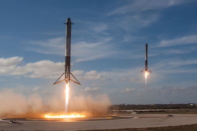 Elon Musk hails 'silly but fun' SpaceX rocket launch