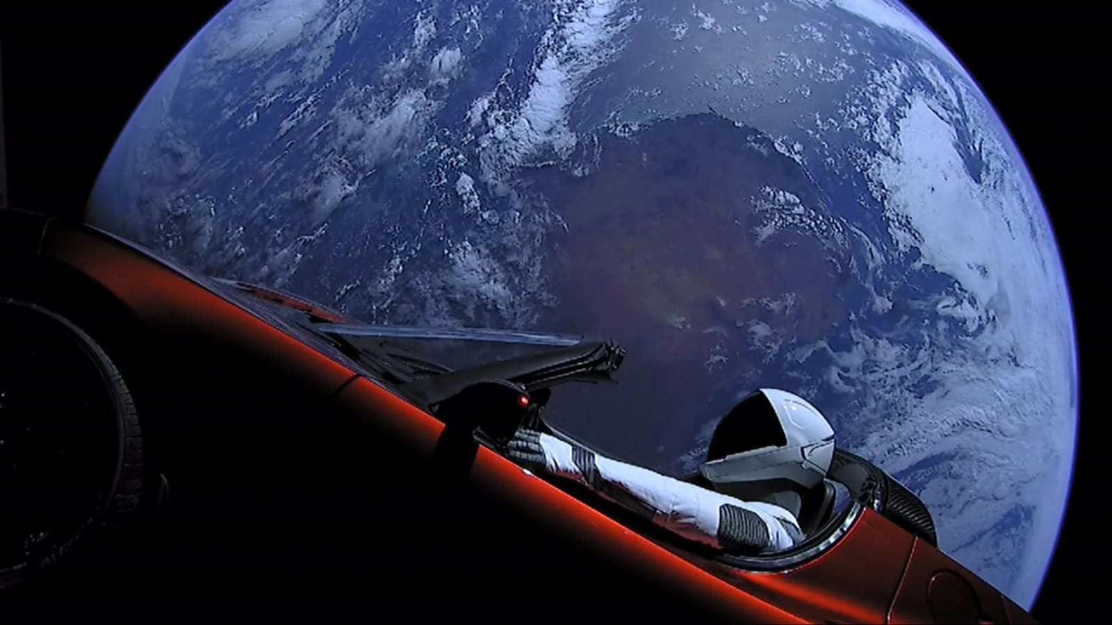 Elon Musk's Tesla Roadster bound for asteroid belt after Falcon Heavy launch