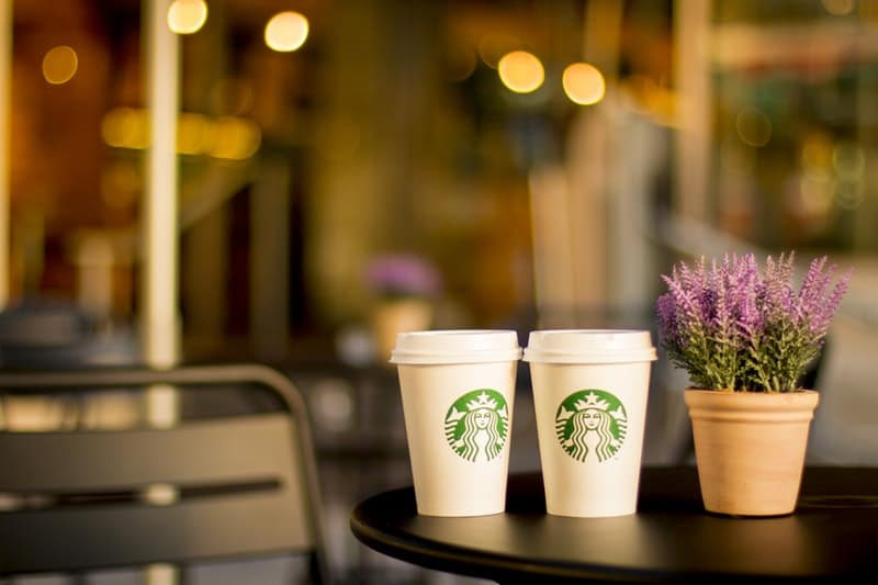 """Starbucks trialling """"pioneering"""" 5p paper cup charge"""