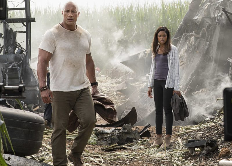Rampage Review: Dwayne Johnson in a CGI Monster Fest