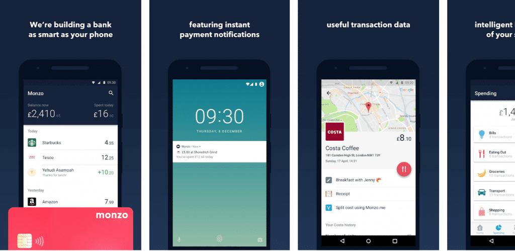 The Full Monzo - Digital Bank Joins Current Account Switching Service
