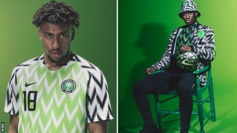 Nigerian World Cup Kit