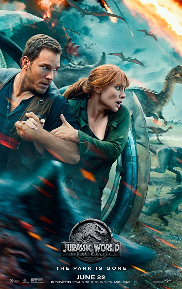 in the first Jurassic Park and we've been subjected to the same repetitive story so many times that it has lost its edge. But while it continues to clean up at the box office with Jurassic World: Fallen Kingdom, we shouldn't expect anything but a mess on screen.