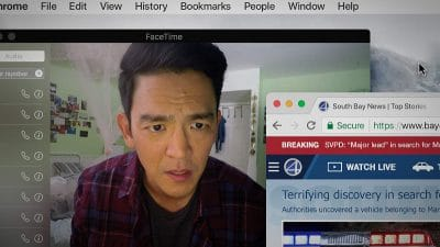 Searching review: A tense and emotional thriller set online