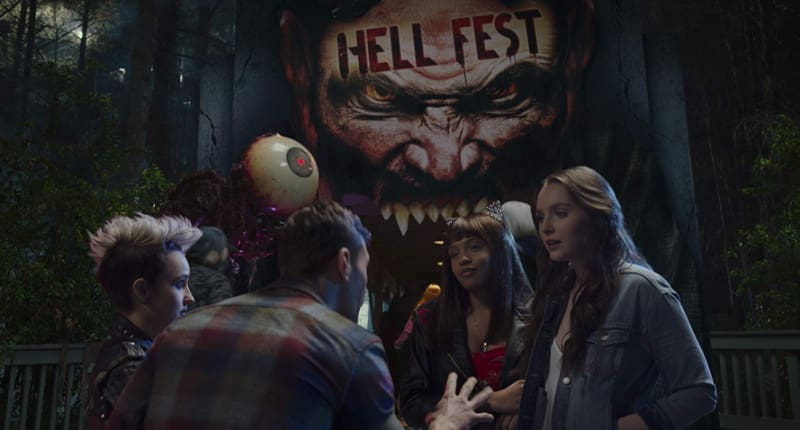 Hell Fest review: A good looking but generic slasher horror