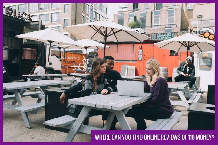 look up online 118 money reviews