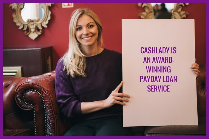 Cashlady is a FCA regutaled credit broker which provide an award-winning payday loan service
