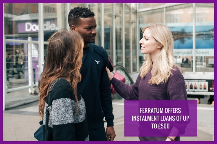 with Ferratum you can apply for a payday loan of up to £500