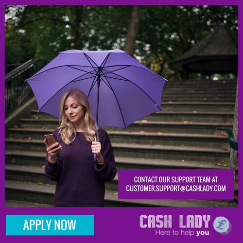 Contact CashLady customer care service by phone or email