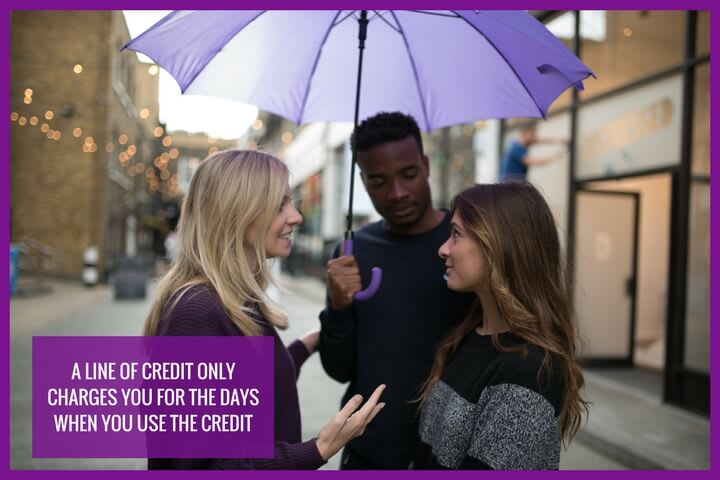 A line of credit is an alternative to a short term credit solution