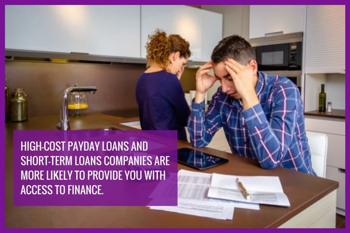 a couple is frustrated about their financial situation