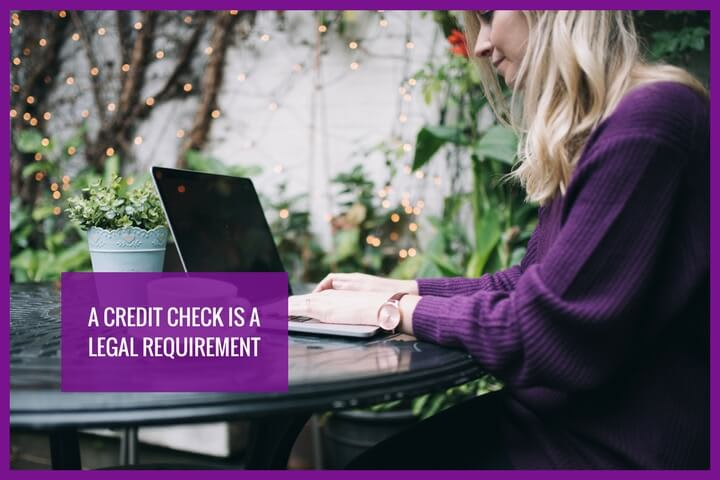 Credit checks are a legal requirement if you want to apply for a loan from a UK credit lender
