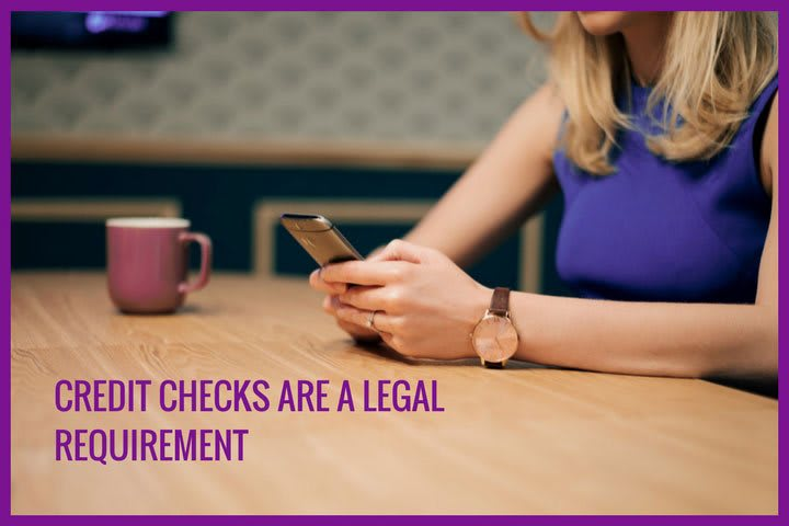 Credit checks are a legal requirement for payday loans