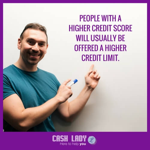 a man explaining credit cards limits - see cashlady