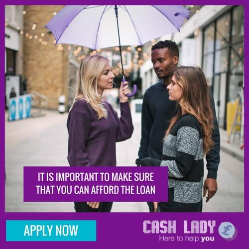 Applying for a payday loan make sure you can repay the loan in full and on time