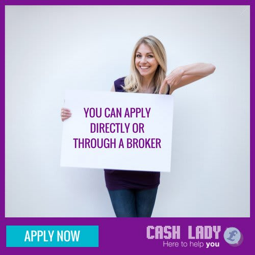 You can apply for a payday loan directly through a broker