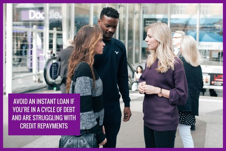 Make sure you can repay your credit before applying for an instant loan