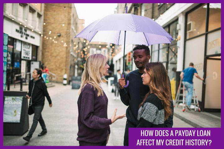 Will a payday loan affect my history?