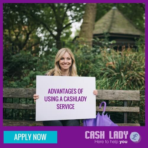 Cashlady brokerage service has advantades over direct lenders
