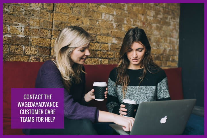 if you have an equiry regarding your payday finance,  Cashlady is explaining how to contact the WageDay Advance support team