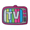 Picture of TV Rhinestone Decals