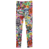 Picture of Emoji Graffiti Leggings
