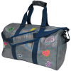 Picture of Metallic Denim Duffle Bag