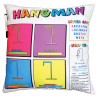 Picture of Hangman and Candy Dots Game Pillow