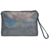 Picture of Metallic Denim Clutch Bag