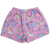 Picture of Unicorns and Stars Plush Shorts
