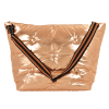 Picture of Copper Tufted  Metallic Weekender Bag