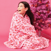 Picture of Peppermint Candy Plush Blanket