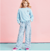 Picture of Pastel Leopard Plush Pants