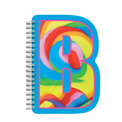 Picture of B Initial Notebook