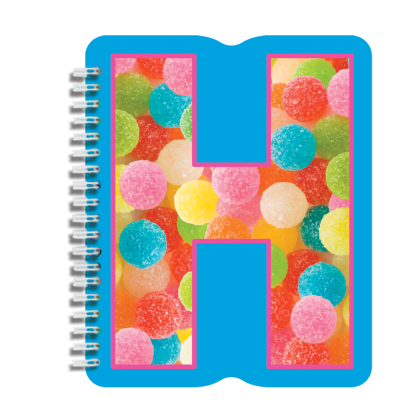 Picture of H Initial Notebook