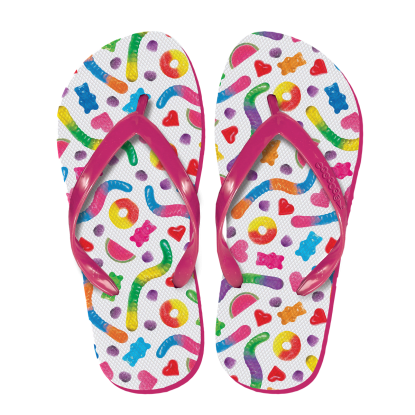 Picture of Yummy Gummies Flip Flops