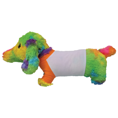 Picture of Tie Dye Hot Dog Autograph Pillow