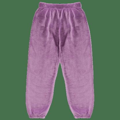 Picture of Purple Plush Sweatpants