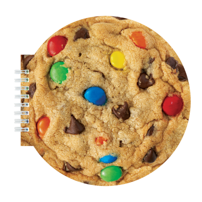 Picture of Candy Chip Cookie Scented Notebook